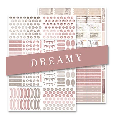 Sticker Dreamy 2er Set