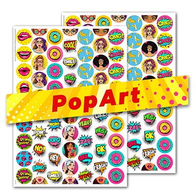 PopArt (Rounds) 2er Set