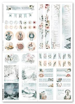 Sticker Winter Mood Spread - Mehrfarbig