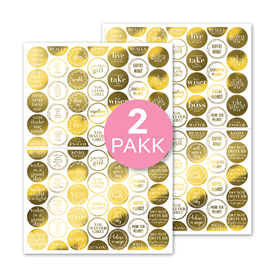 Glow Pop (Rounds) 2-pakk